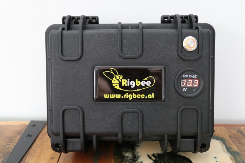 Rigbee Ladestation (Powerbank) LiFePo4 12V17,5Ah