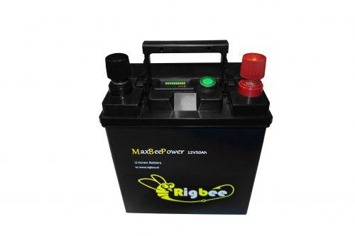 Rigbee MaxBeePower - Die neue Generation von Li-Ionen Akkus